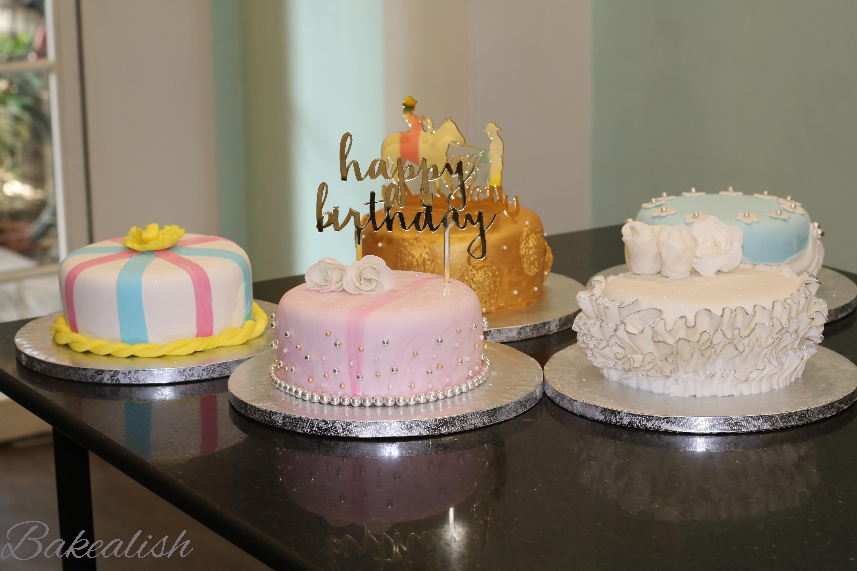 Workshop on Traditional Fondant Wedding Cakes Bakealish