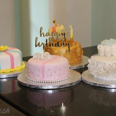 Workshop on Traditional Fondant Wedding Cakes