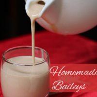 Homemade Baileys (Irish Cream Whiskey)