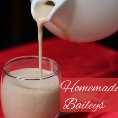 Homemade Baileys (Irish Cream Whiskey)