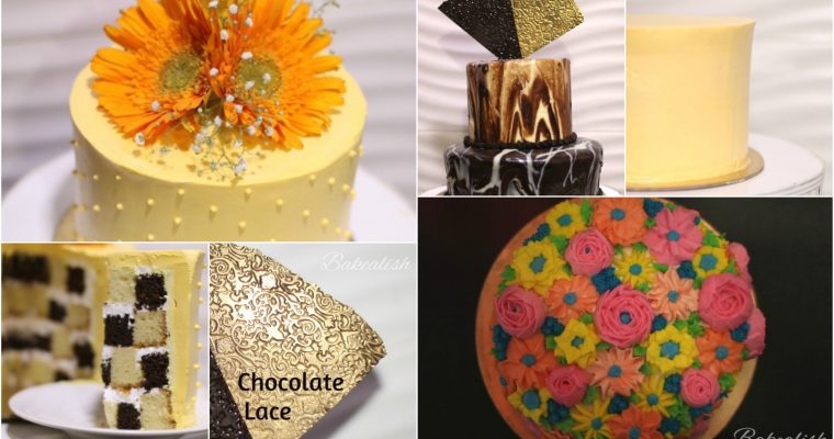 WORKSHOP ON ALL ABOUT CAKES