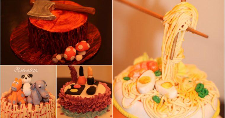 Fondant Theme Cakes ( 2 Days Intense Course for beginners )- Delhi, Mumbai, Goa