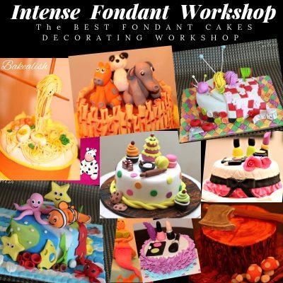 Fondant Theme Cakes ( 2 Days Intense Course )- Mumbai, Goa