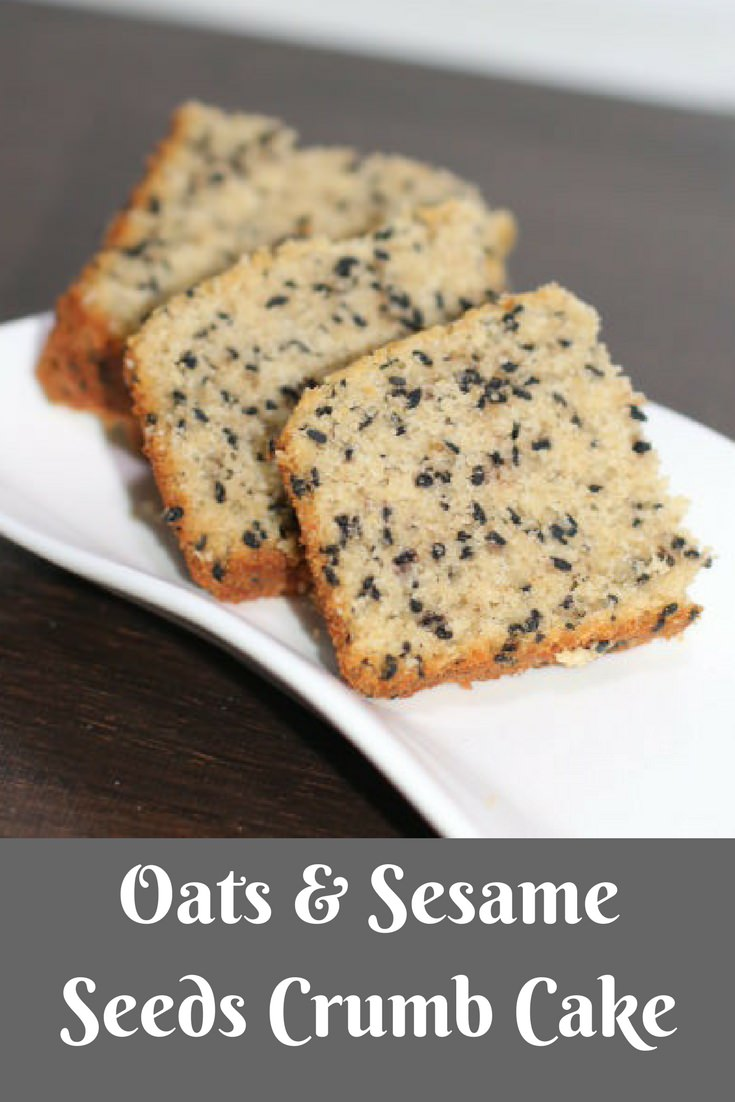 These power-packed ingredients when brought together in the form of cake can create quitea stir. Oats and sesame seedsare two ingredients that make this cake differentand delicious. This moist crumb cake is perfect when served with chai. Oats Sesame Seeds Crumb Cake is one of myall-time favorite seed cake recipesto date.