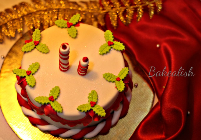 This is indeed The Best Christmas Cake Workshop Ever. Students from all around India come to join us at this workshop to learn the true art of Christmas cake making and decorating