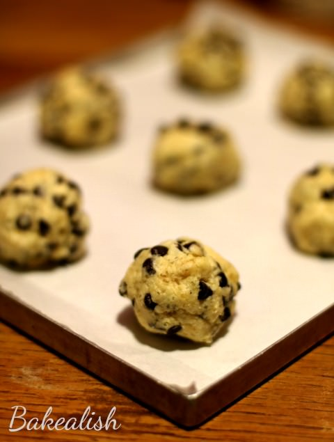 These Chocolate Chip Cookies are loaded with goodness. These cookies are perfectly crisp with the perfect amount of chocolate chips in every bite. Simple & easy to make chocolate chip cookie serve as a perfect snack and are simply considered as every kid's favorite munch.