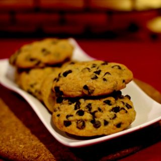 These Chocolate Chip Cookies are loaded with goodness. These cookies are perfectly crisp with the perfect amount of chocolate chips in every bite. Simple & easy to make chocolate chip cookies serve as a perfect snack and are simply considered as every kid's favorite munch.