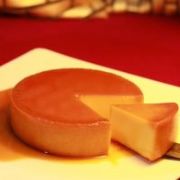 Coconut Cream Cheese Flan