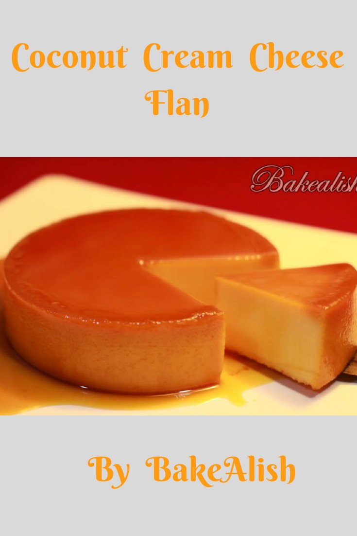Its all about flan in this post. I made this Coconut cream cheese flan dessert last night and everyone loved it. It just didn't taste great but looked great too. The TEXTURE is so smooth and the flavors are at its best. I couldn't resist but share this recipe with all of you.