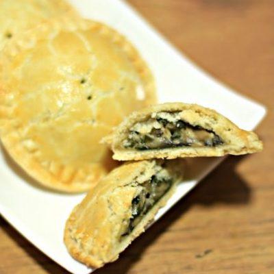 Spinach Mushroom Mini Pies