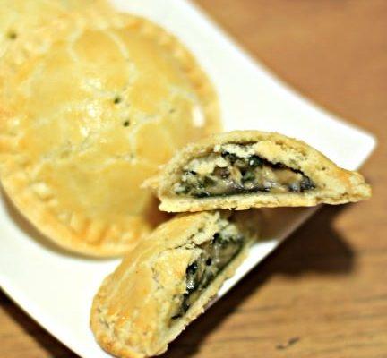 Spinach & Mushroom Mini Pies