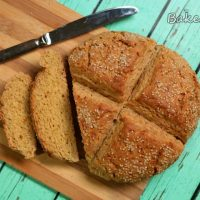 Irish Soda Bread (with a twist of honey sesame seeds)