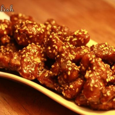Sesame Honey Glazed Chicken (Baked)