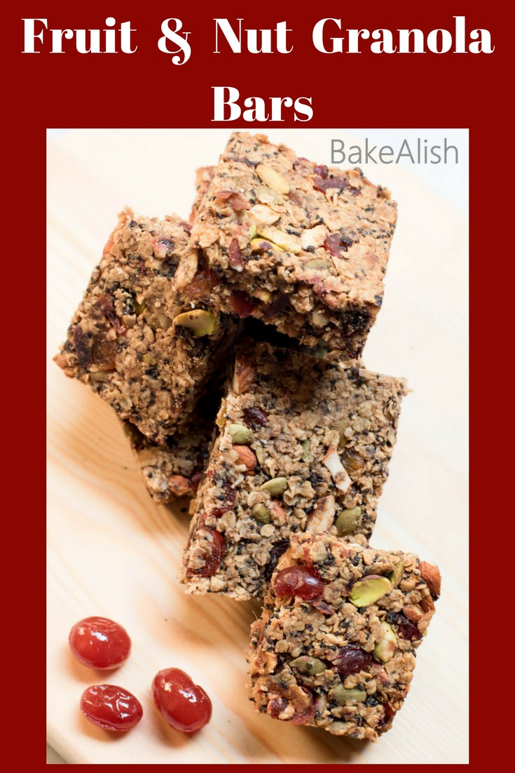 Healthy Snack options made with oats