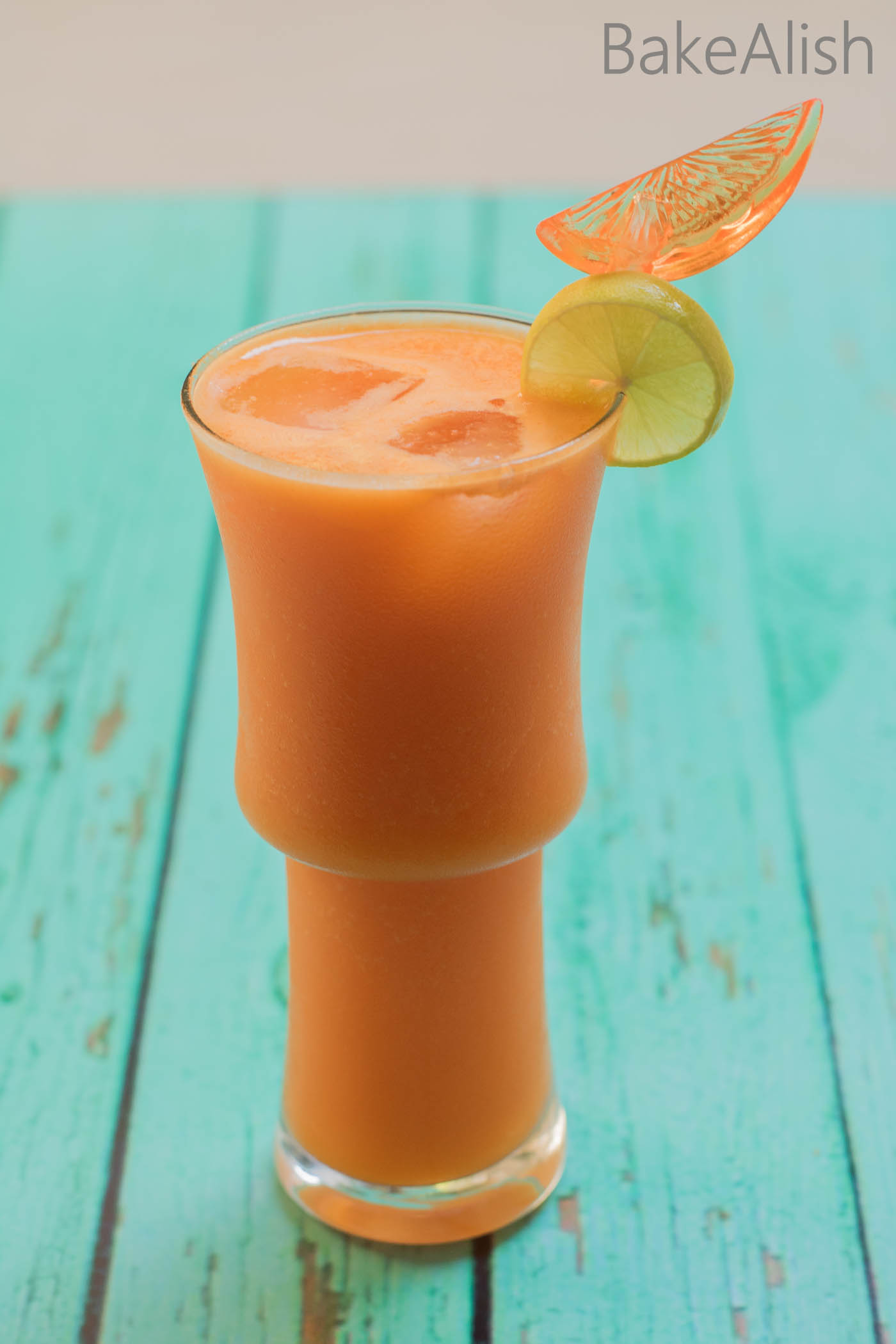 This Healthy juice helps to achieve glowing skin and is a healthy option during the summers