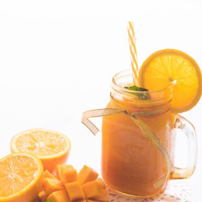 Sparkling Mango Orange Drink