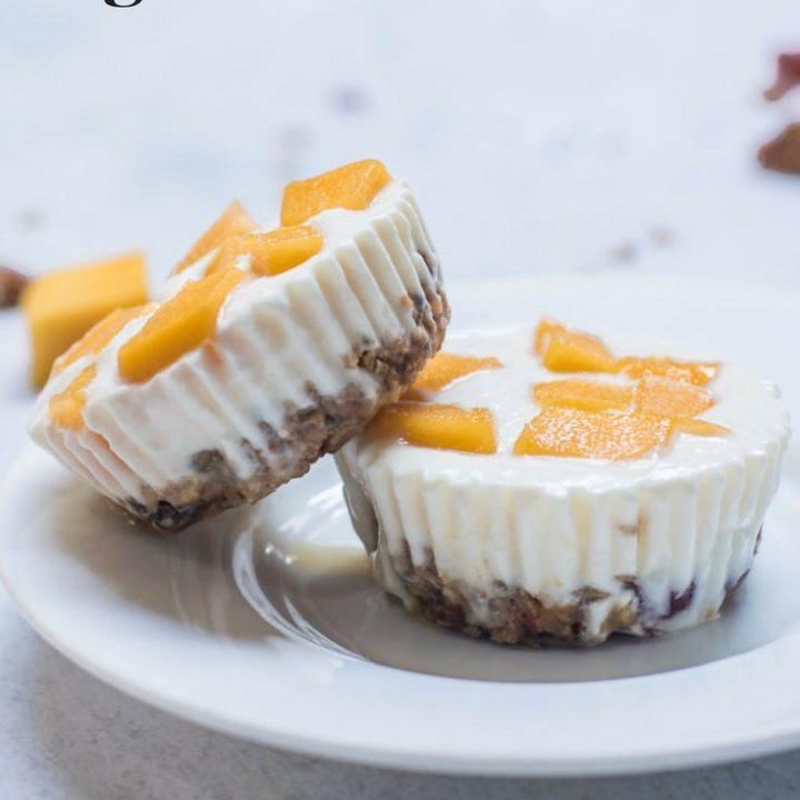 Creamy Mango Yogurt Granola Bites
