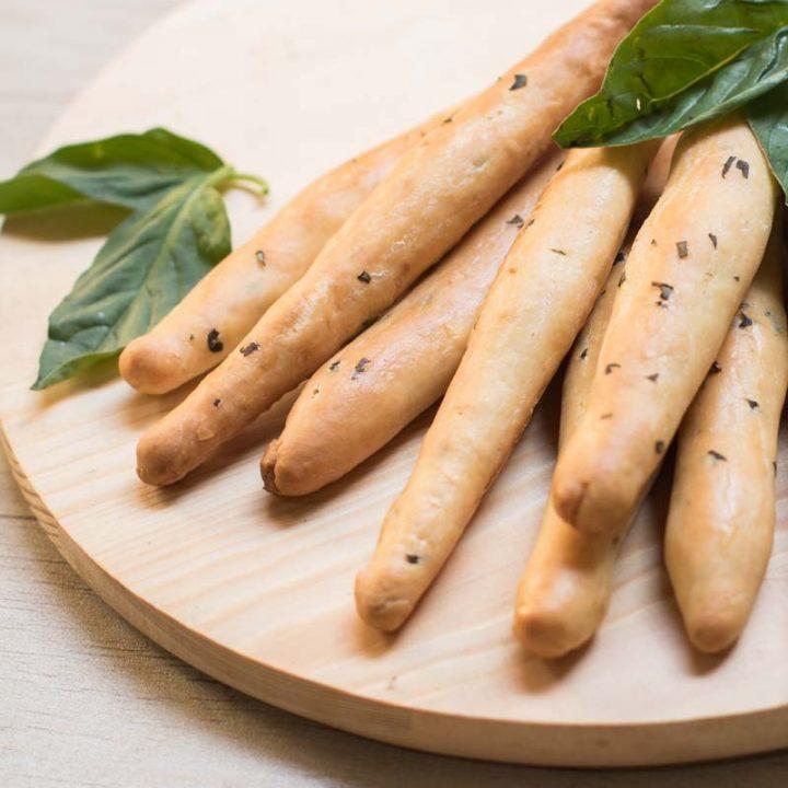 Basil Cheese Bread Sticks