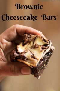 You love brownies or cheesecakes?? I love both !!! Here's an absolutely addictive recipe which is got the best of both worlds, Brownie Cheesecake Bars