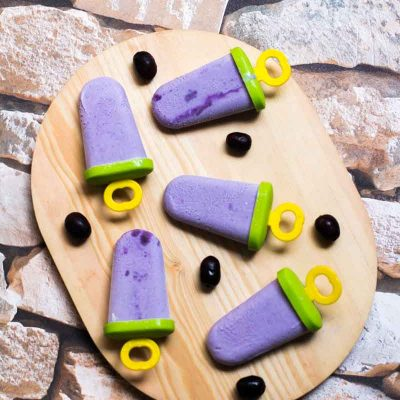 Jamun Ice Cream (Black Plum Ice Cream)