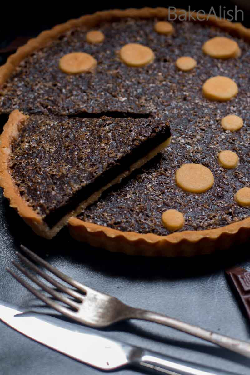 Brownie in a tart crust recipe