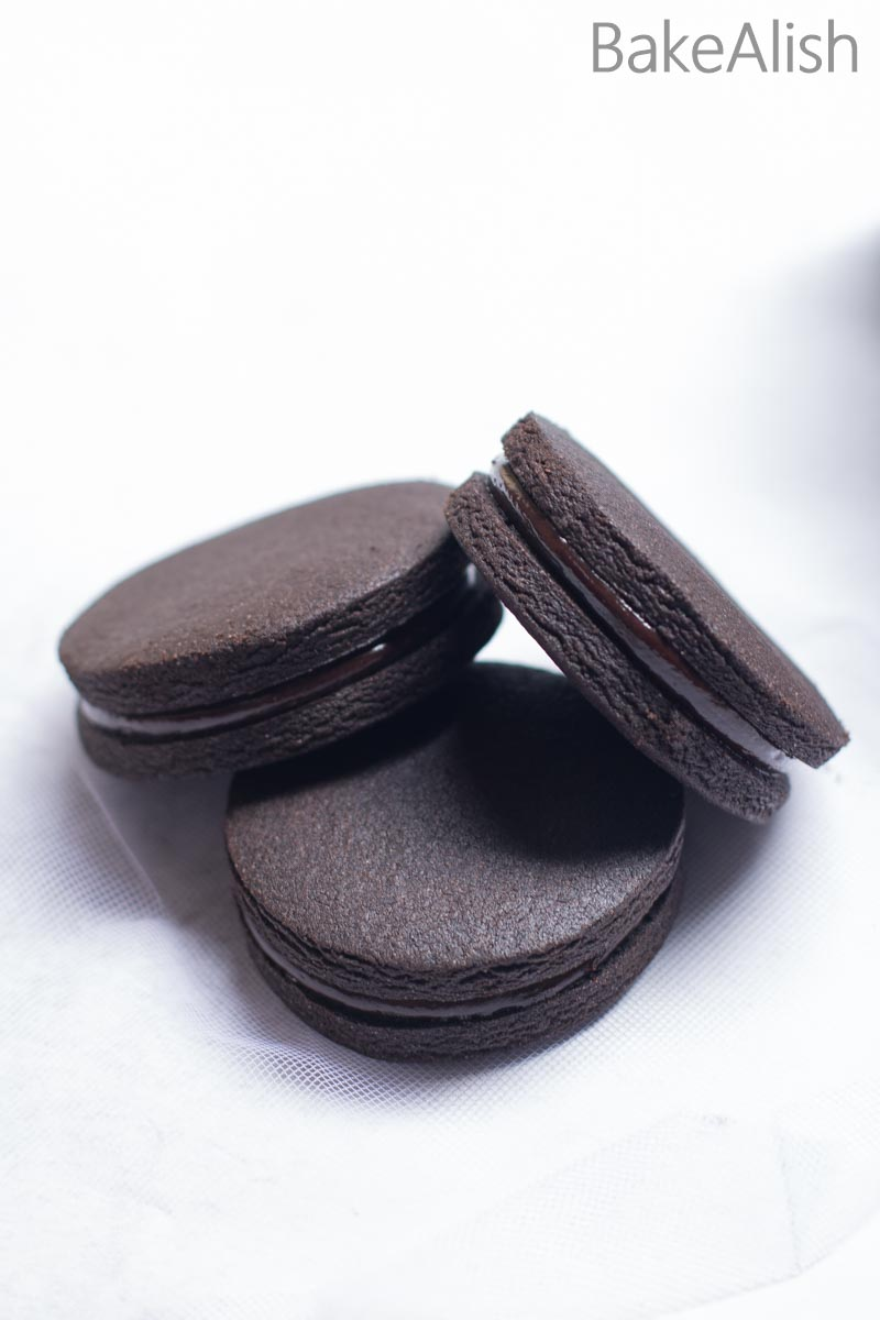 These Chocolate Coffee Cookie Sandwiches is a chocolate lovers dream come true. Every bite of this cookie is rich in flavor with a creamy filling.