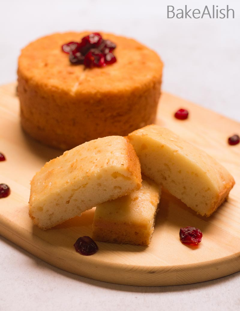 This Eggless Vanilla Cake Sponge is light, moist and loaded with flavor. It's easy to make, hassle-free, moist and tastes yum