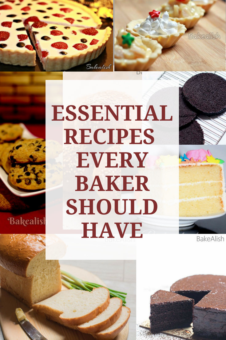Here are the Top 6 Essential Recipes Every Baker Requires or should have to carry out their further baking endeavors. Must have recipes.