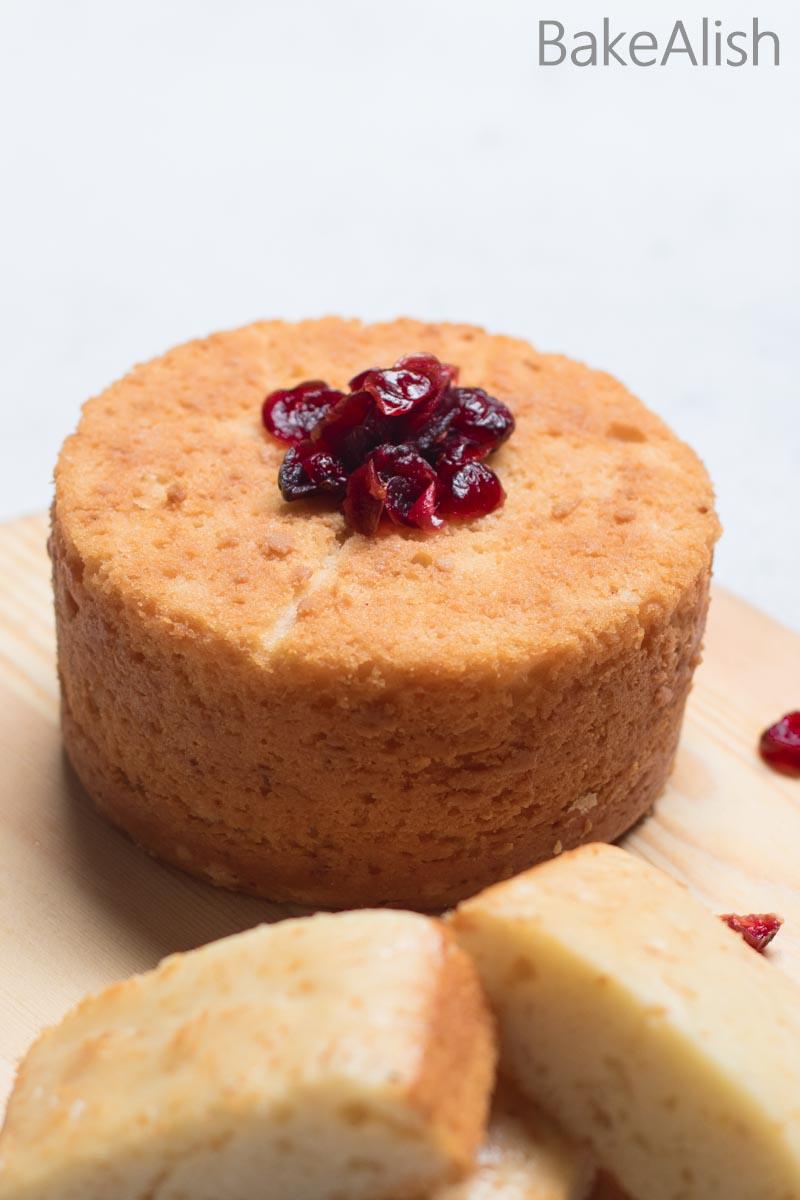 Eggless Vanilla Cake Sponge Fluffy Moist Light Cake Recipe