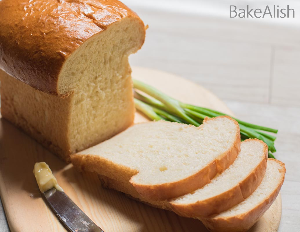 Super soft plain bread recipe, fluffy and light