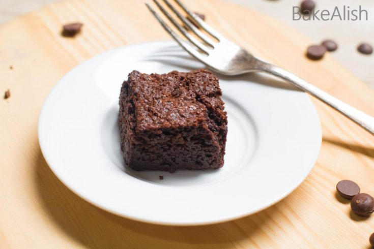 I call them The Perfect Dark Chocolate Brownies as they are perfectly moist, decadent, fudgy and are easy to make. Just like any other brownie recipe, these are quick to make but they taste heavenly and simply perfect