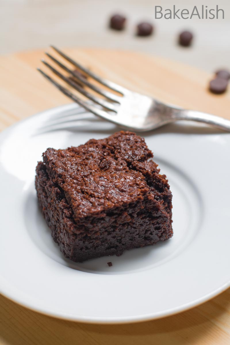 I call them The Perfect Dark Chocolate Brownies as they are perfectly moist, decadent, fudgy