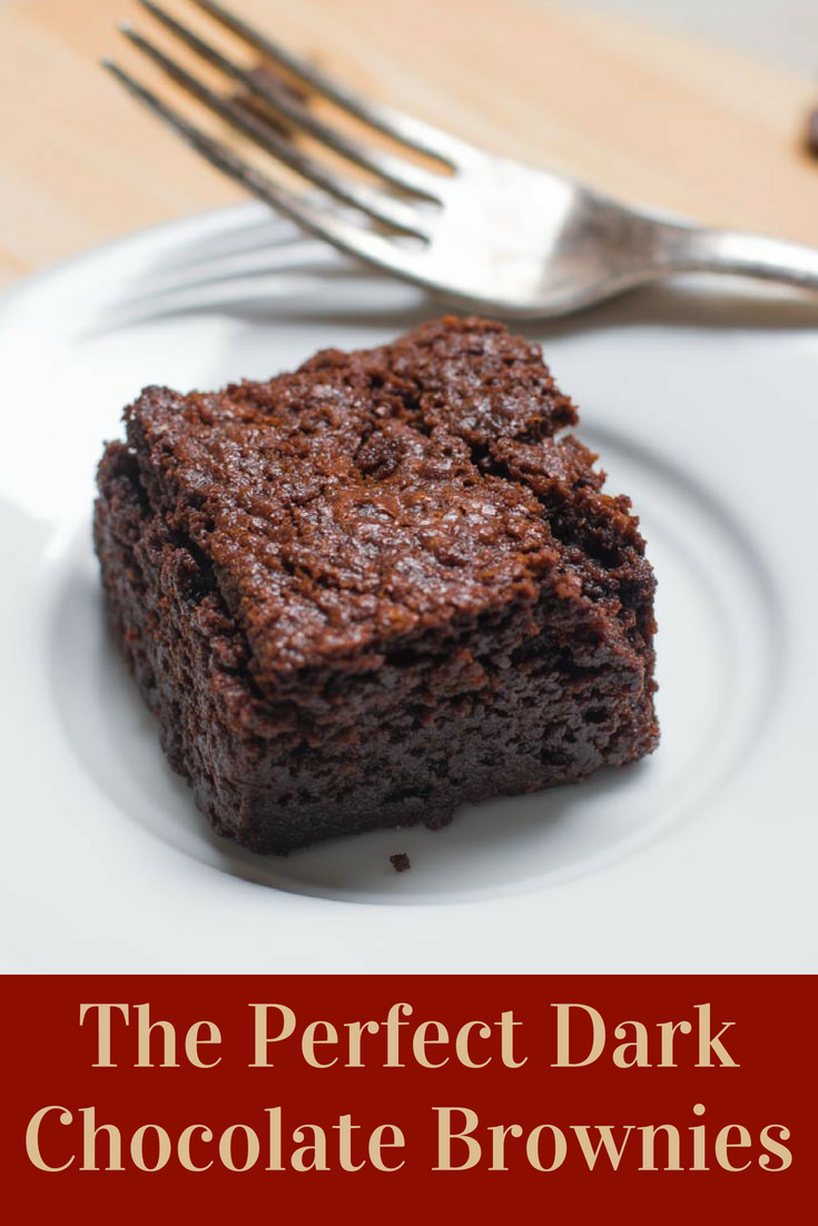 Best Brownies which are fudgy and rich made with pure chocolate and no cocoa powder