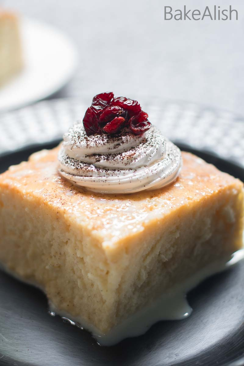 This homemade authentic Tres Leches Cake also known as Milk Cake is the best cake recipe in town. Learn how to make this perfect dessert cake recipe