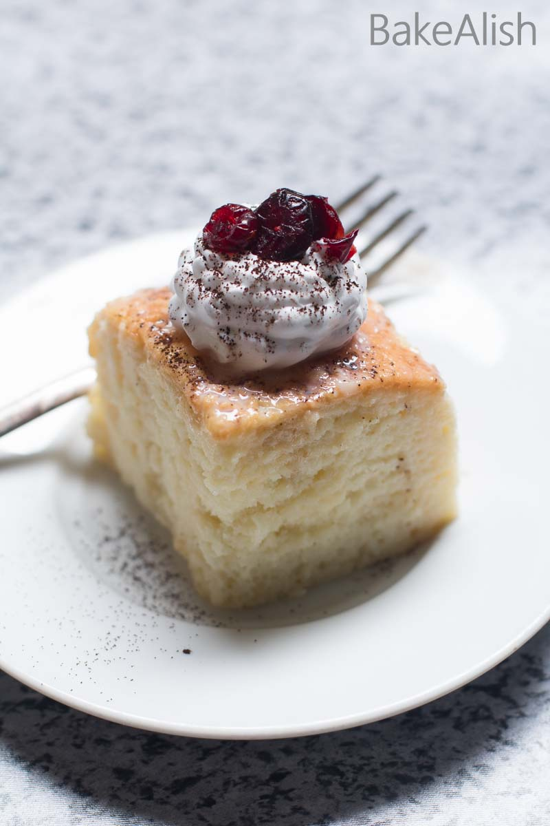 This Tres Leches Cake is simply the perfect dessert cake recipe, rich in flavor with a juicy texture. It is also known as Milk Cake
