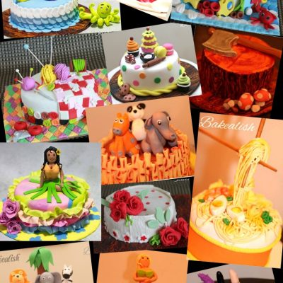 Fondant Theme Cakes ( 2 Days Intense Course )- Mumbai, Goa