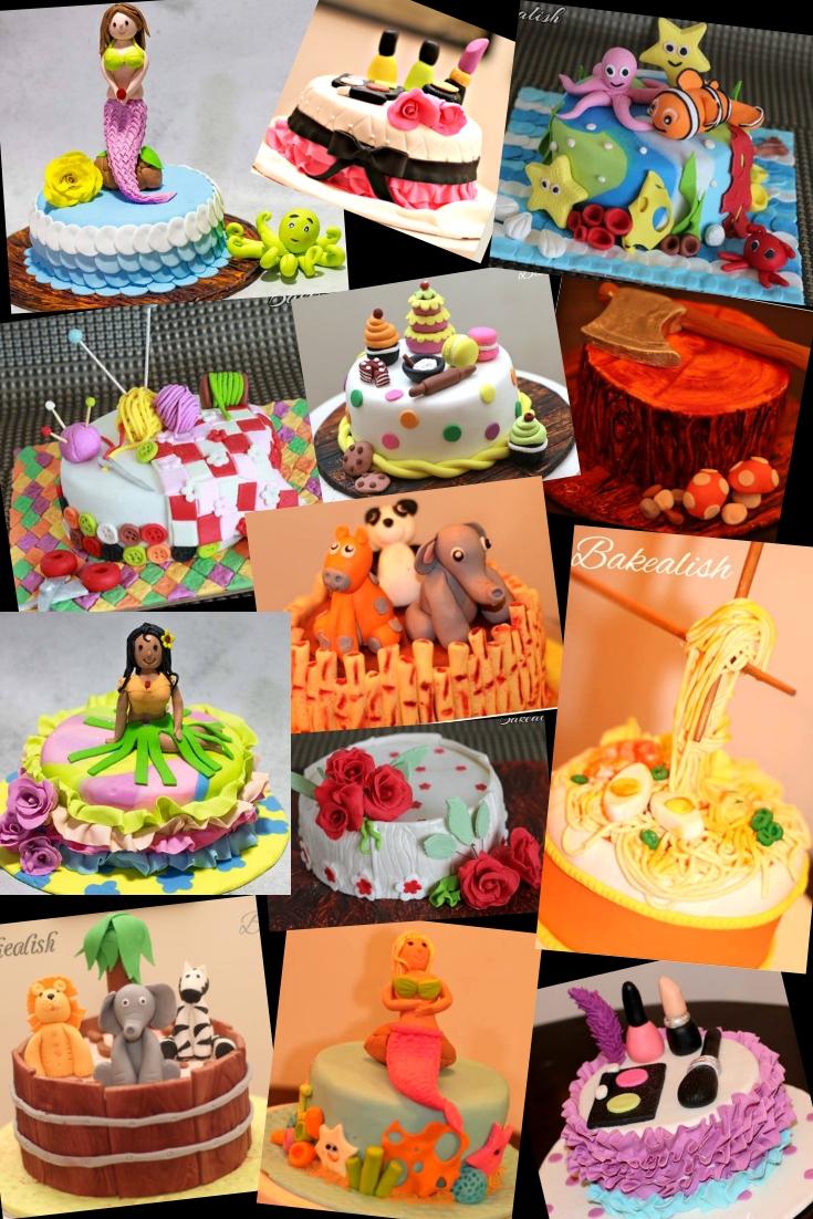 Fondant Theme Cakes 2 Days Intense Course Mumbai Goa