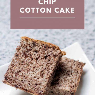 Chocolate Chip Cotton Cake