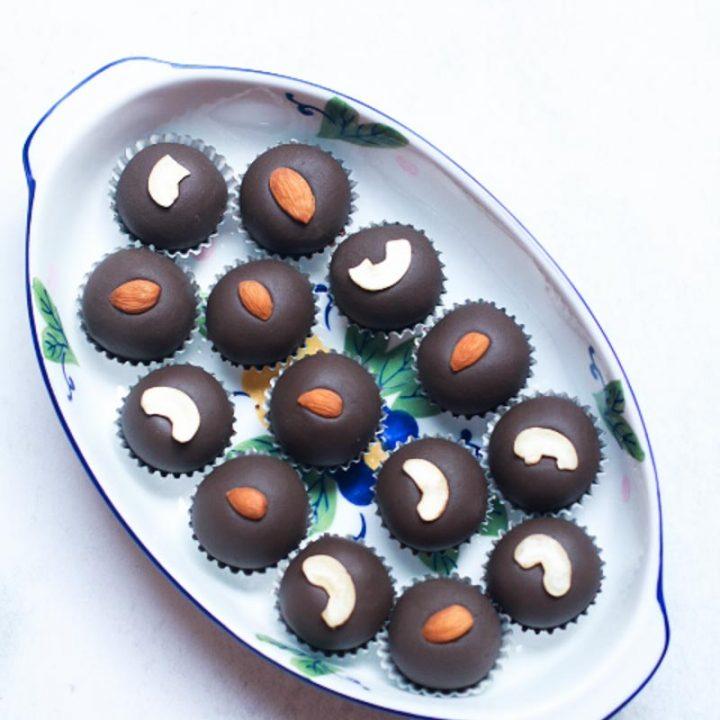 Chocolate Malai Peda