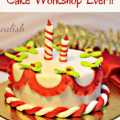 The Best Christmas Cake Workshop Ever !!