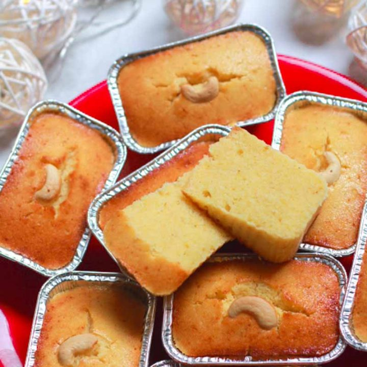 Moist Mawa Cupcakes