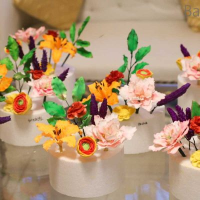 Workshop on Exotic Sugar Flowers – Delhi & Mumbai