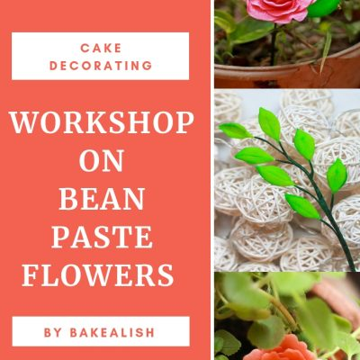 Workshop On Bean Paste Flowers
