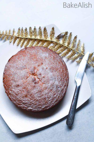 Pineapple White Chocolate Cake