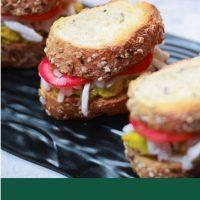 Healthy Avocado Sandwich - With Tender Coconut