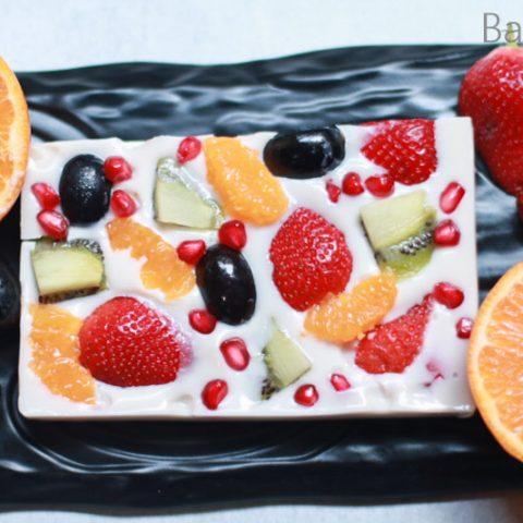 Agar-Agar Fruit Jelly Cake