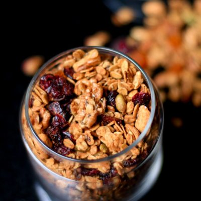 Easy Homemade Healthy Granola Recipe