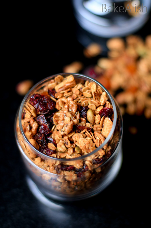Granola recipe for breakfast