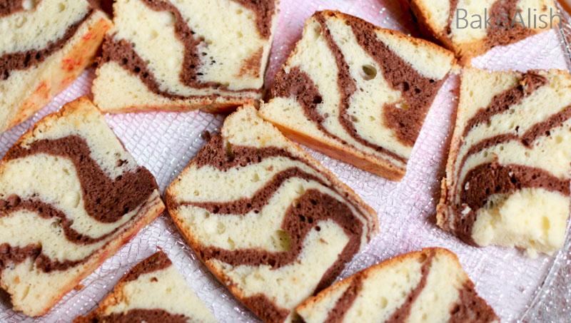 Vanilla And Chocolate Swirls