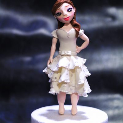 Masterclass On Realistic Sugar Figurines For Fondant Cakes – Mumbai, Goa & Delhi